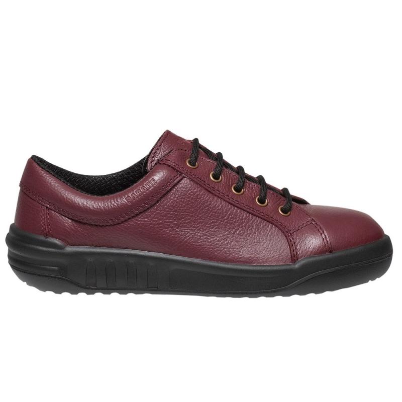 josia chaussure de s curit s3 rouge femme basket e vetiwork. Black Bedroom Furniture Sets. Home Design Ideas