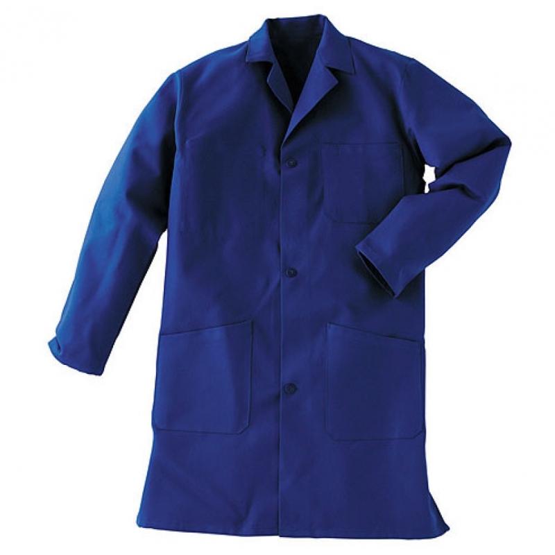 Connu VETIWORK - Blouse blue 100% cotton long sleeve E-Vetiwork PR48