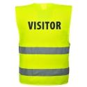 Gilet-Baudrier Jaune Haute Visibilité Visitor - Portwest - Norme ISO 20471 - Homme