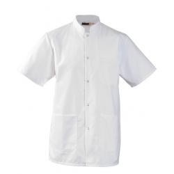 Tunique veste Médicale extra blanche Homme Leger mulliez flory