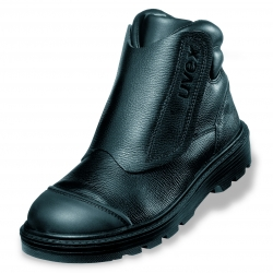 Safety footwear UVEX ORIGIN BOOTIE Welder S2 Black