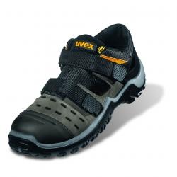 Calzature di sicurezza UVEX 9455 Atletico PRO Sandalo ESD S1 Grigio