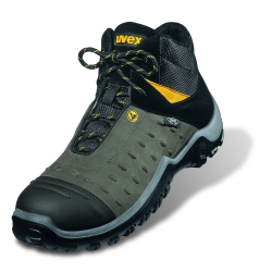 Safety footwear UVEX ATC PRO S2 ESD Grey