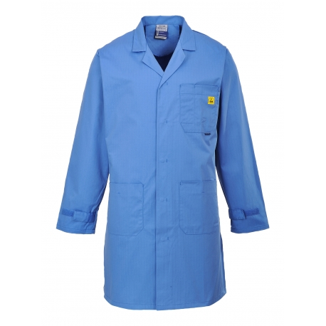 Smock Anti-static ESD Blue