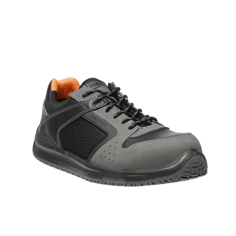 Parade - Zapatos de seguridad Holia 3804 - Hombre - Negro / Gris - 45 ZbxQp5y