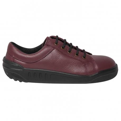 JOSITA Chaussure Sécurité femme bordeaux S3