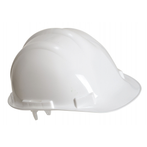 Casque de sécurité simple blanc mixte / Casque de chantier