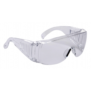 Sur-lunette de protection incolore