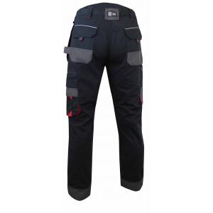 Pantalon de travail MINERAI -Lebeure - Tissu canvas avec poches genouillères