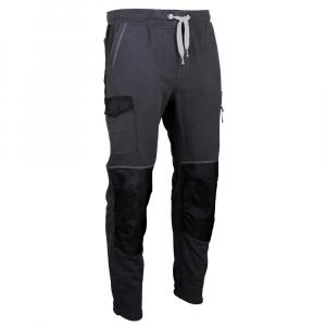 Pantalon de travail Techno - molleton avec poches genouillères