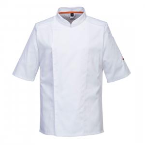 Veste de cuisine aérés blanche - manche courte - Portwest