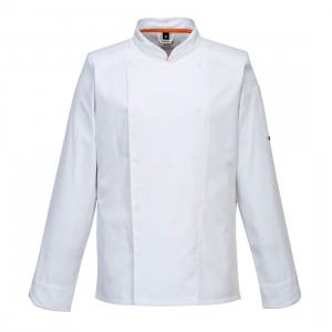Veste de cuisine aérés blanche - manche Longue - Portwest