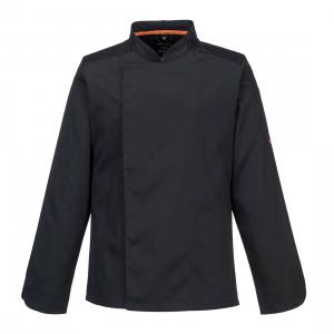 Veste de cuisine aérés noir - manche Longue - Portwest