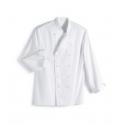 Jacket cooking white long - sleeved shirt- Vetiwork