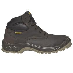 Zapatos de seguridad de alta tops para la construcción del sitio de trabajo grande - Desfile de Noumea - Estándar S3 - Hombre