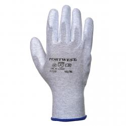 PORTWEST - Arbeitshandschuhe, handfläche mit PU-beschichtung, Antistatisch, ESD