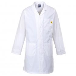 Camice antistatico ESD Bianco