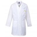 Bluse Anti-statische ESD-Weiß