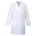 Smock Anti-static ESD White