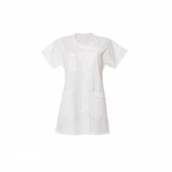 Tunic Medical white short sleeve - Cawe Berenice - Wife