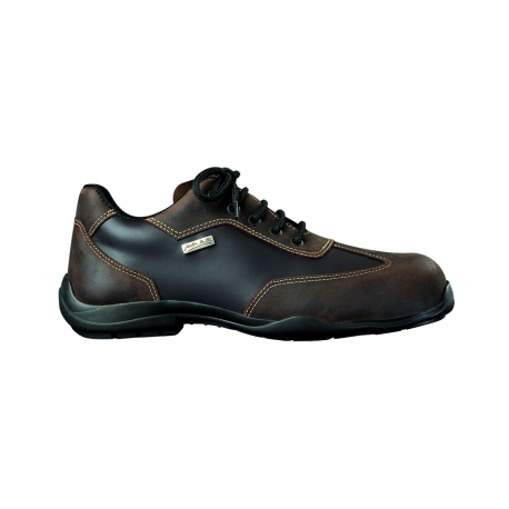 MYCITY BROWN Safety Shoes Type city GASTON MILLE's S3 SRC