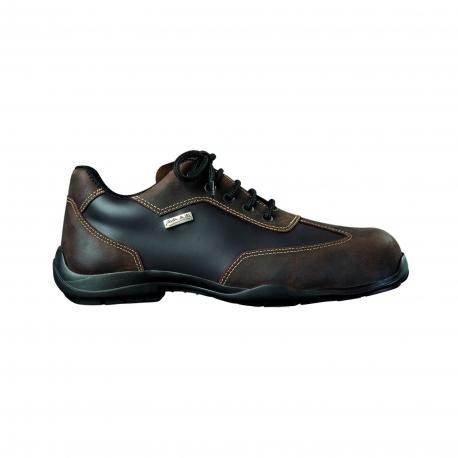 MYCITY BROWN Safety Shoes Type city GASTON MILLE's S3 SRC