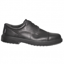 Safety shoe man black-type town