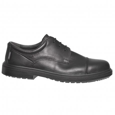 Safety shoe man black-type town