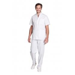 Túnica médica para el hombre - Mulliez Trika - 65% poliéster 35% algodón