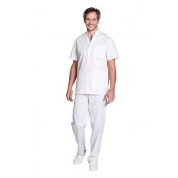 Tunic medical for man - Mulliez Trika - 65% polyester 35% cotton